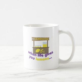 Life Gives Lemons Coffee Mug