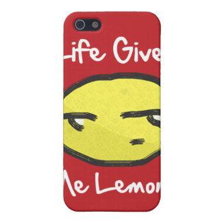 Life Gives Me Lemons iPhone 4 Case