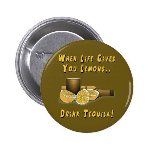 Life Gives You Lemons 6 Cm Round Badge