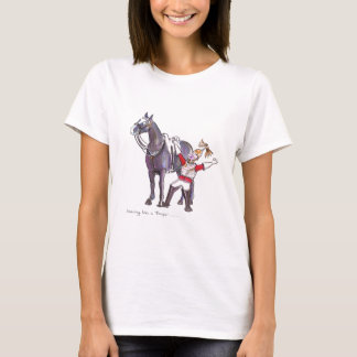 Life Guards funny horse cartoon T-Shirt