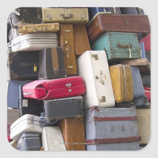 Life has a lot of baggage 2 square sticker