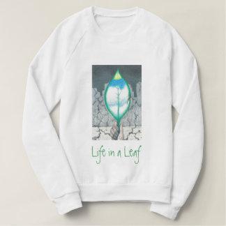 Life in a Leaf (Green Letters) Sweatshirt