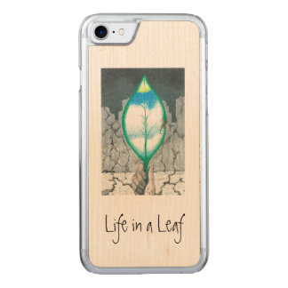 Life in a Leaf (slim) Carved iPhone 8/7 Case
