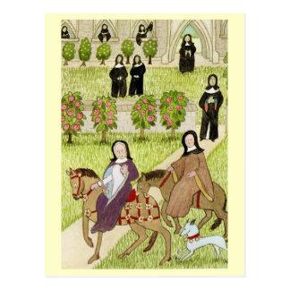 Life in Merry England, Nuns Postcard