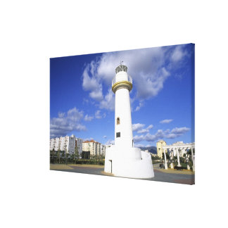 Life in Spain Southern Coast Costa del Sol Gallery Wrapped Canvas