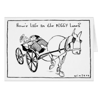 Life in the Buggy Lane Card