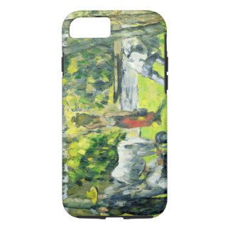 Life in the Fields, c.1875 (oil on canvas) iPhone 8/7 Case
