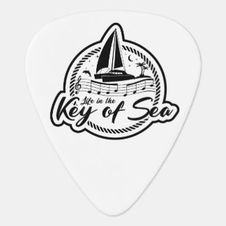Life in the Key of Sea Guitar Pick