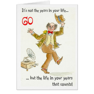 'Life in Your Years' 60th Birthday Card