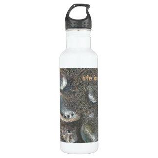 life is a beach! 710 ml water bottle