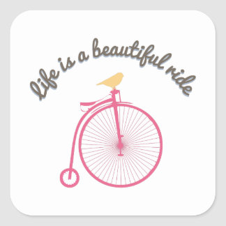 Life Is A Beautiful Ride Sticker