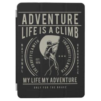 Life Is A Climb | My Life My Adventure iPad Air Cover