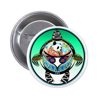 Life Is A Design Panda 2 Inch Round Button