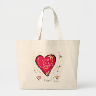 Life is a dream!? tote bag