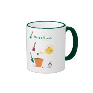 Life is a Flower Mug