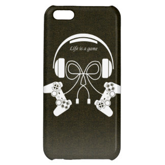 Life is a game iPhone 5C cases