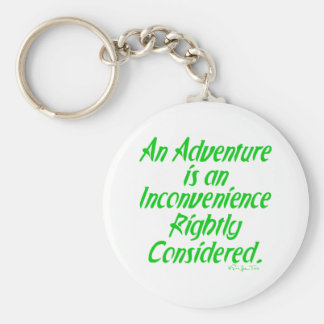 Life Is An Adventure Key Chains