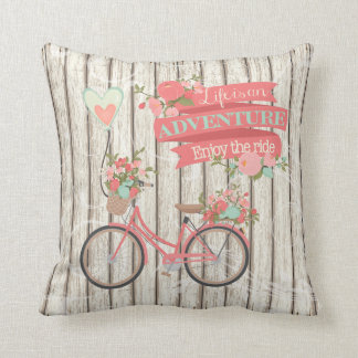 Life Is An Adventure Personalized Pillow