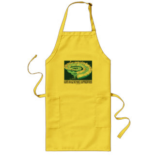 Life Is An Epoch Adventure (Geological Time) Long Apron