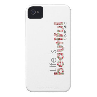 Life is Beautiful. and so am I :) iPhone 4 Case