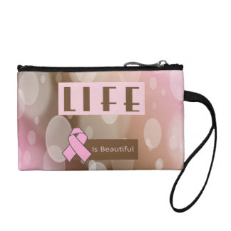 Life Is Beautiiful, Breast Cancer Survivor Change Purse