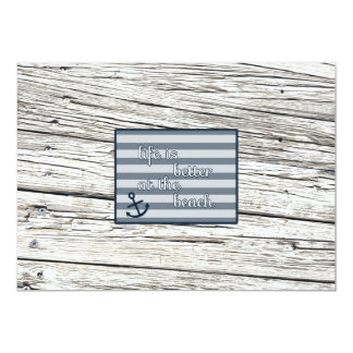 Life is Better at the Beach Card