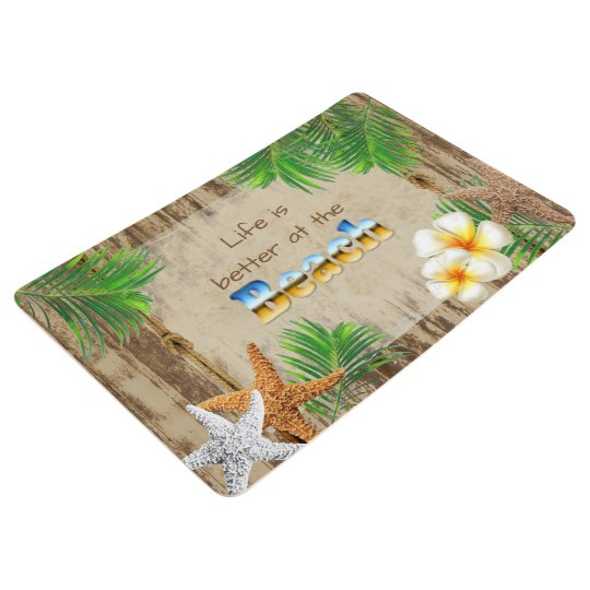 Life is Better at the Beach Floor Mat