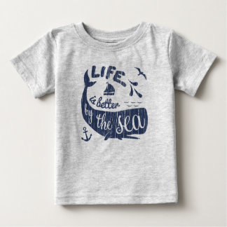 Life is better by the sea Nautical Top