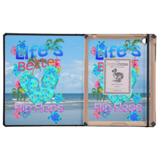 Life Is Better In Flip Flops iPad Case