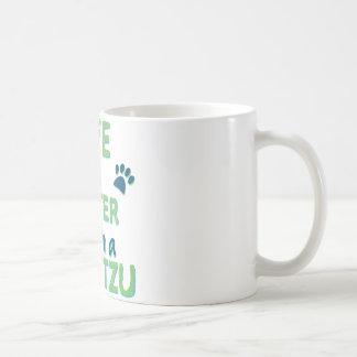 Life is Better Shih Tzu Coffee Mug