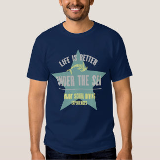 Life is Better Under the Sea - Hammerhead Shirt