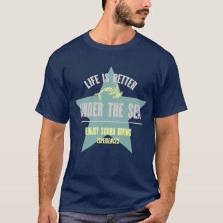 Life is Better Under the Sea - Hammerhead T-Shirt