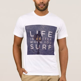 LIFE IS BETTER WHEN YOU SURF - Deep Opal
