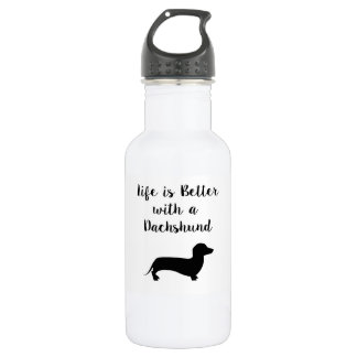 Life is Better with a Dachshund Water Bottle 532 Ml Water Bottle