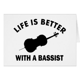 Life is better with a double bass card