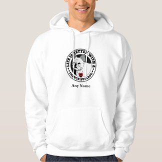 Life Is Better With A French Bulldog Personalized Hoodie
