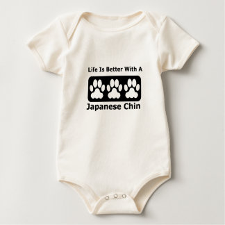 Life Is Better With A Japanese Chin Baby Creeper