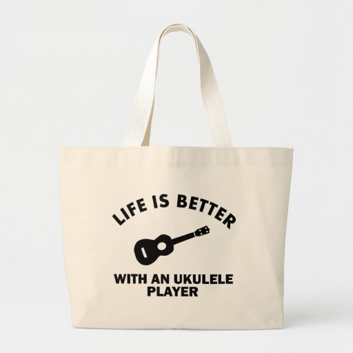 Life is better with ukulele players bags
