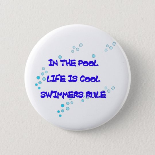 Life is Cool Round Button