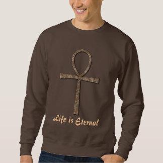 Life is Eternal Ancient Egyptian Ankh Sweatshirt