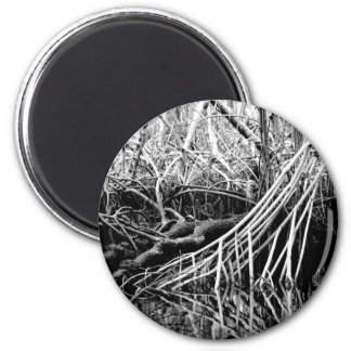 Life is gnarly... 6 cm round magnet