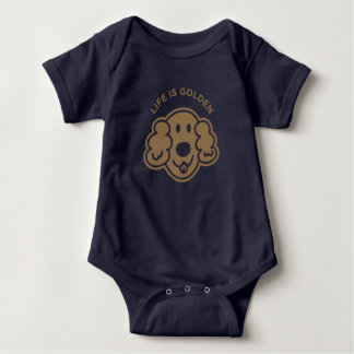 Life is golden [Limited Gold] Baby Bodysuit