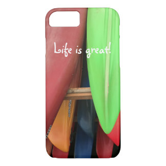 Life Is Great iPhone Cover
