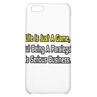 Life Is Just a Game .. Paralegal Is Serious Case For iPhone 5C