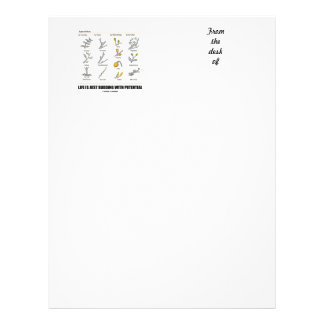Life Is Just Budding With Potential (Bud Types) Personalised Letterhead