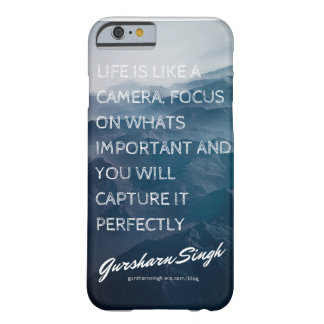 Life Is Like A Camera Barely There iPhone 6 Case