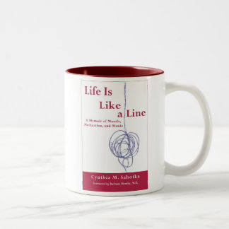 Life Is Like a Line Authentic Bipolar Mug