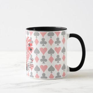 Life is like playing cards mug