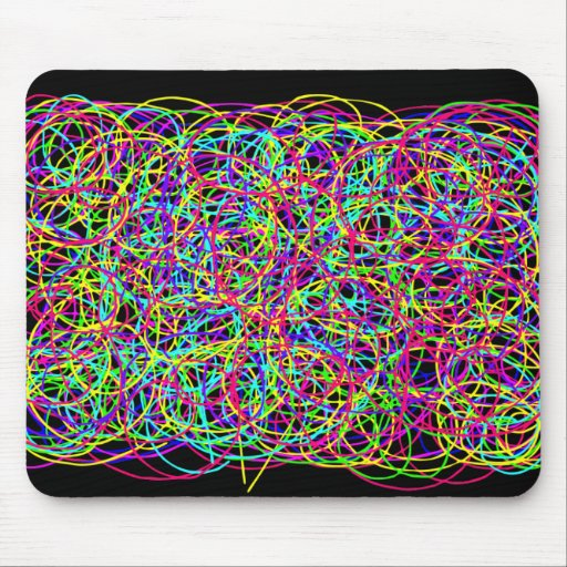 Life is Messy.... Add a Little Scribble Mousepad