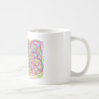 Life is Messy Add a Little Scribble Coffee Mug
